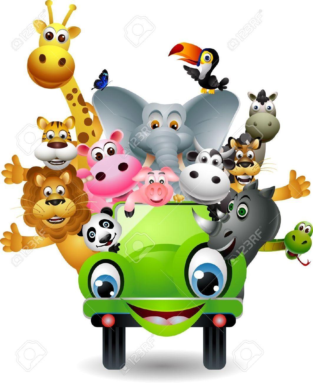 Funny Animals Cartoon Safari Animals Clipart 1731 Cartoon Animals Animal Clipart Funny Animals