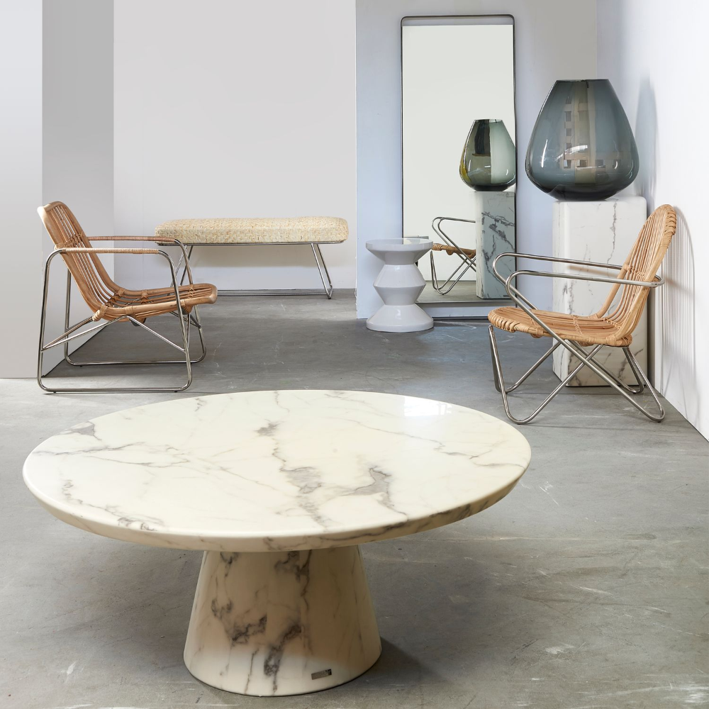 Coffee Table Marble Look White Table Marble Table Round Table Marble Pols Potten Mom Coffee Table Faux Marble Coffee Table Marble Coffee Table [ 1000 x 1000 Pixel ]