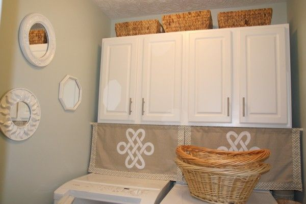 Nice cabinet handles for the hall closets or the laundry room
