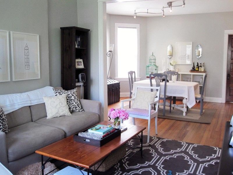 decorating ideas for a small living room dining room combo apt rh ar pinterest com Small Living Room and Dining Room Combo Ideas Living Room Dining Room Kitchen Combo Ideas