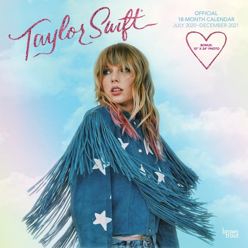 Taylorswift 2021 Official 18 Months Calendar Is Available Order Your Copy Now And Decorate Your Walls With This Amaz In 2020 Pop Singers Taylor Swift Wall Calendar