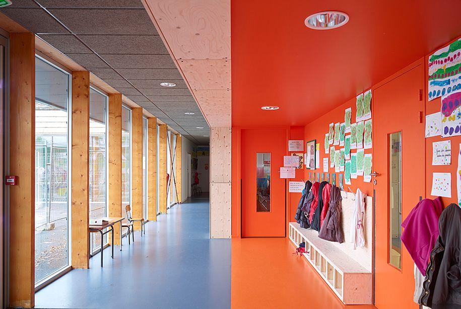 groupe scolaire remondel jacques boucheton architecte jba nantes jba equipements pinterest. Black Bedroom Furniture Sets. Home Design Ideas