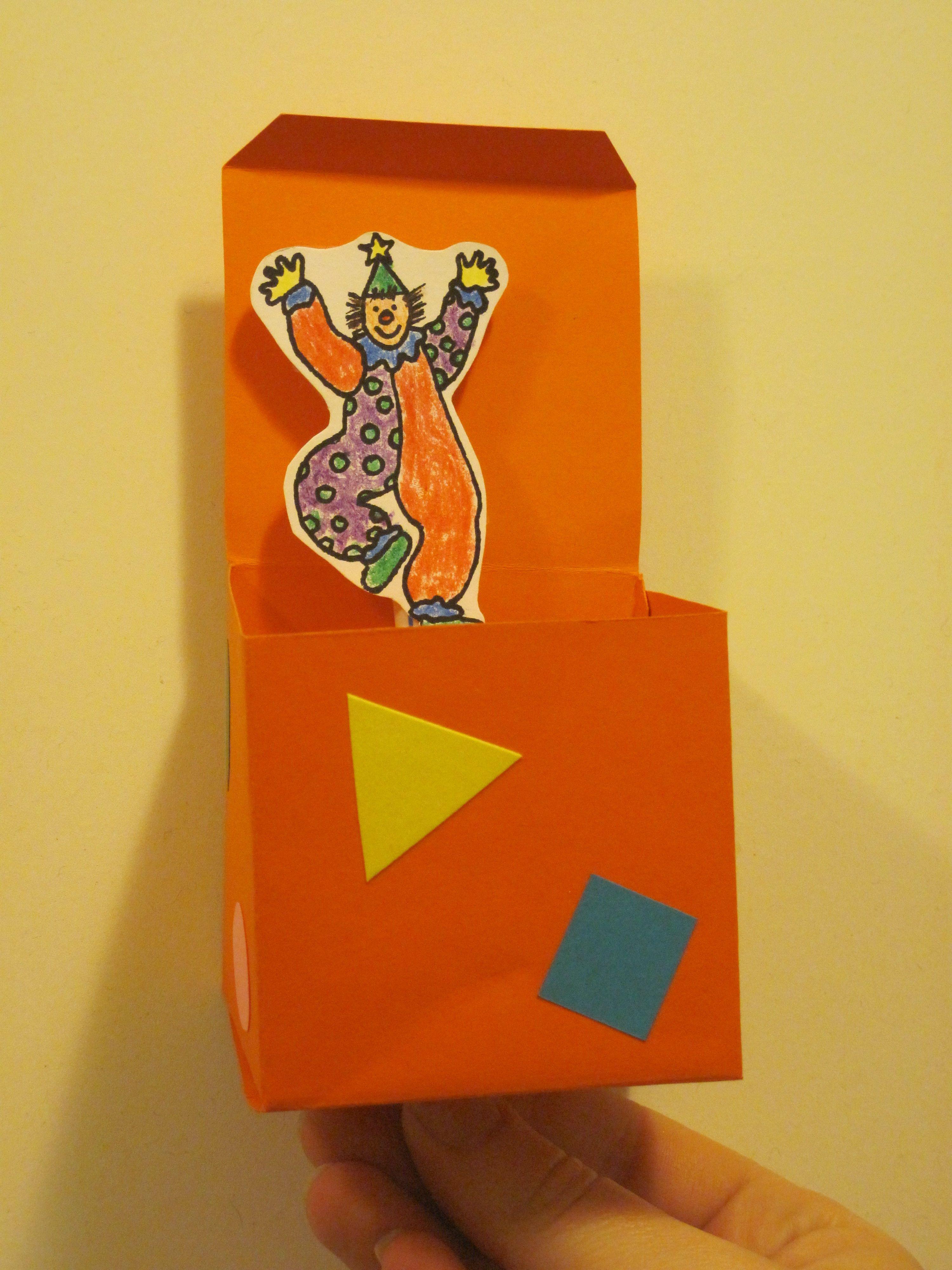 Craft  Jimbo The Clown, Jack In The Box