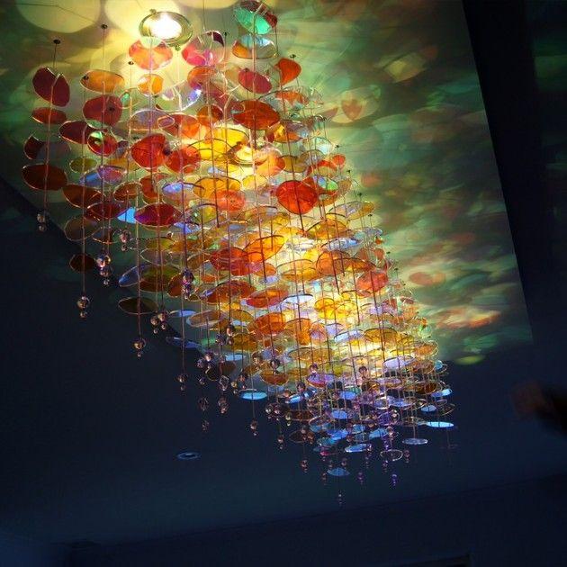 yellow goat design | Licht Installation mit Acryl Elementen in ...