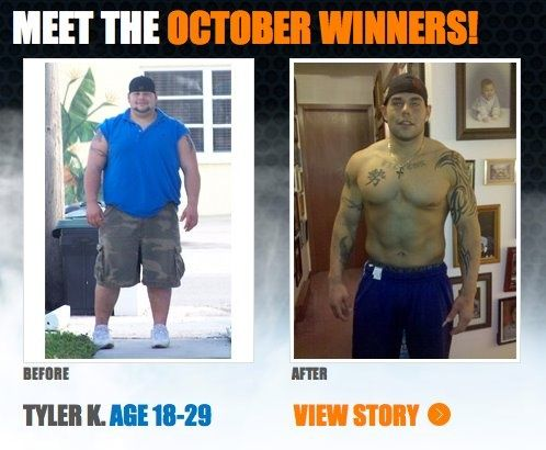 "How you can do it too! Tyler lost 124 lbs and 13"" off his waist with + ."