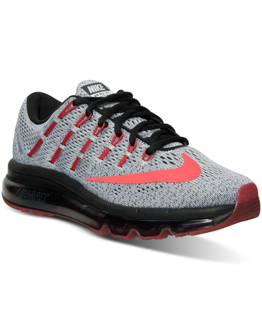 low priced 3e636 5a37f Nike Big Boys Air Max 2016 Running Sneakers from Finish Line