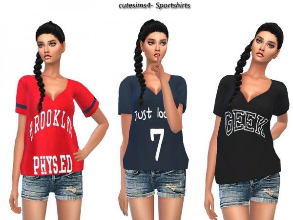 The Sims Resource: Casual Sporty Outfit by Sweetsims4 • Sims 4