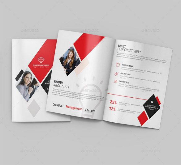 Printable BiFold Brochure Template   Free Word Psd Pdf Eps
