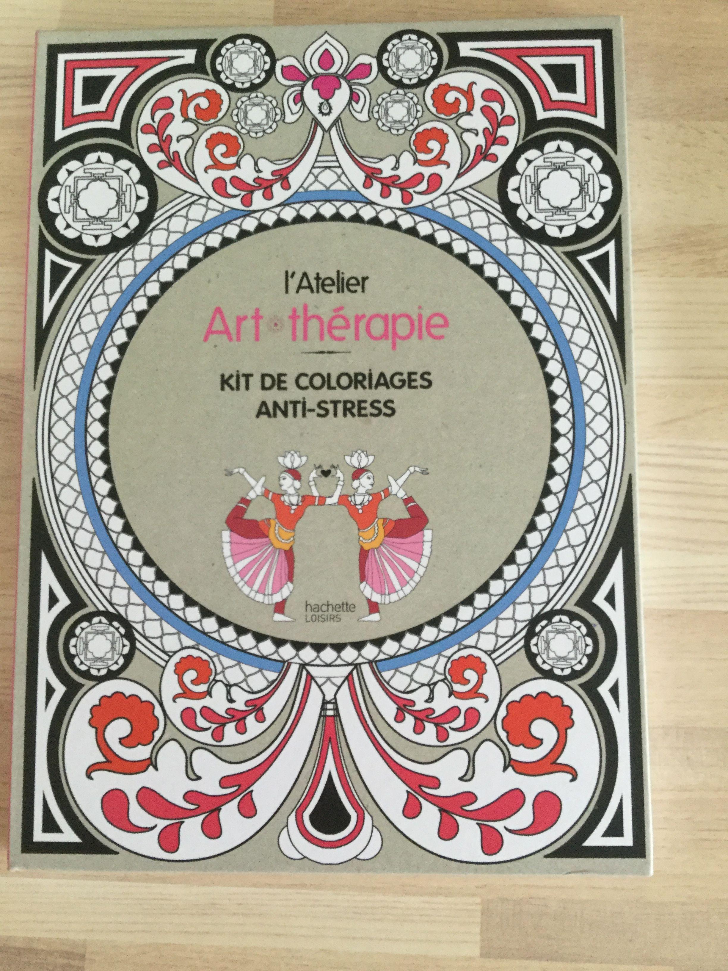 Livre de coloriage anti Stress art thérapie