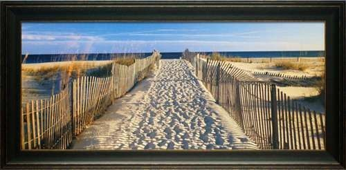 'Pathway to the Beach' by Joseph Sohm Framed Photographic Print