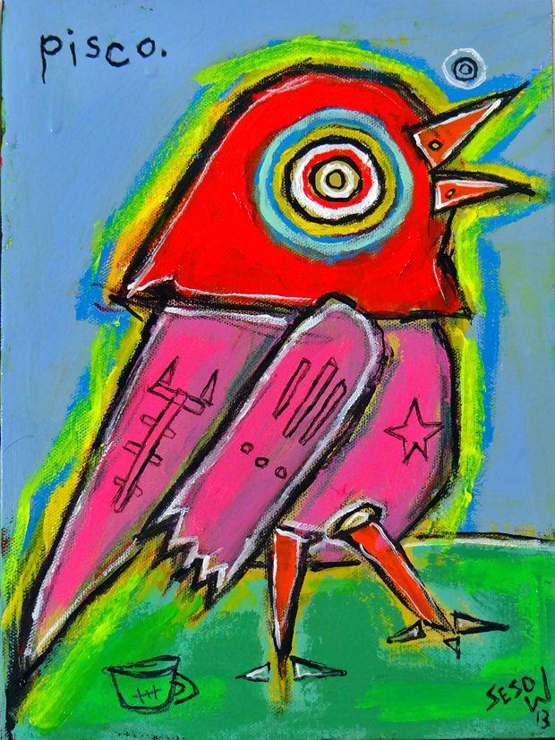 pisco  by matt sesow   http://new.sesow.com  pisco.jpg (620×827)