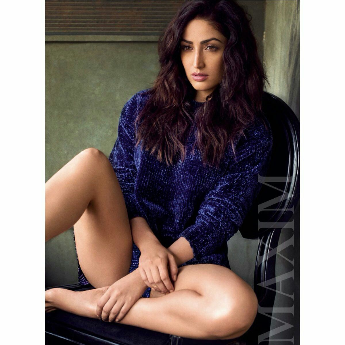 yami gautam for maxim india january issue 2018 #maximindia