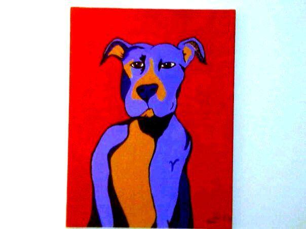 doggy warhol. artist:kcdi