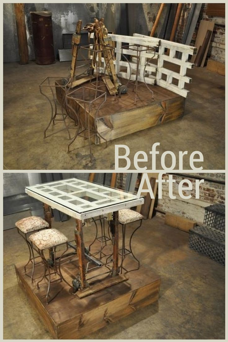 Before and after images from hgtv 39 s flea market flip for Furniture market
