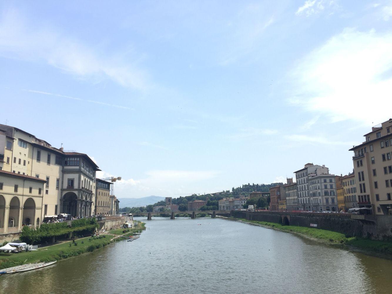 Italian Honeymoon - Day 4 - Firenze - On the Ponte Vecchio ...