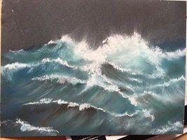 Nina Paysage De Mer Peinture Mer Agitee Paysage Mer