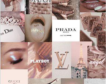 80 pcs Pink Aesthetic Collage Kit
