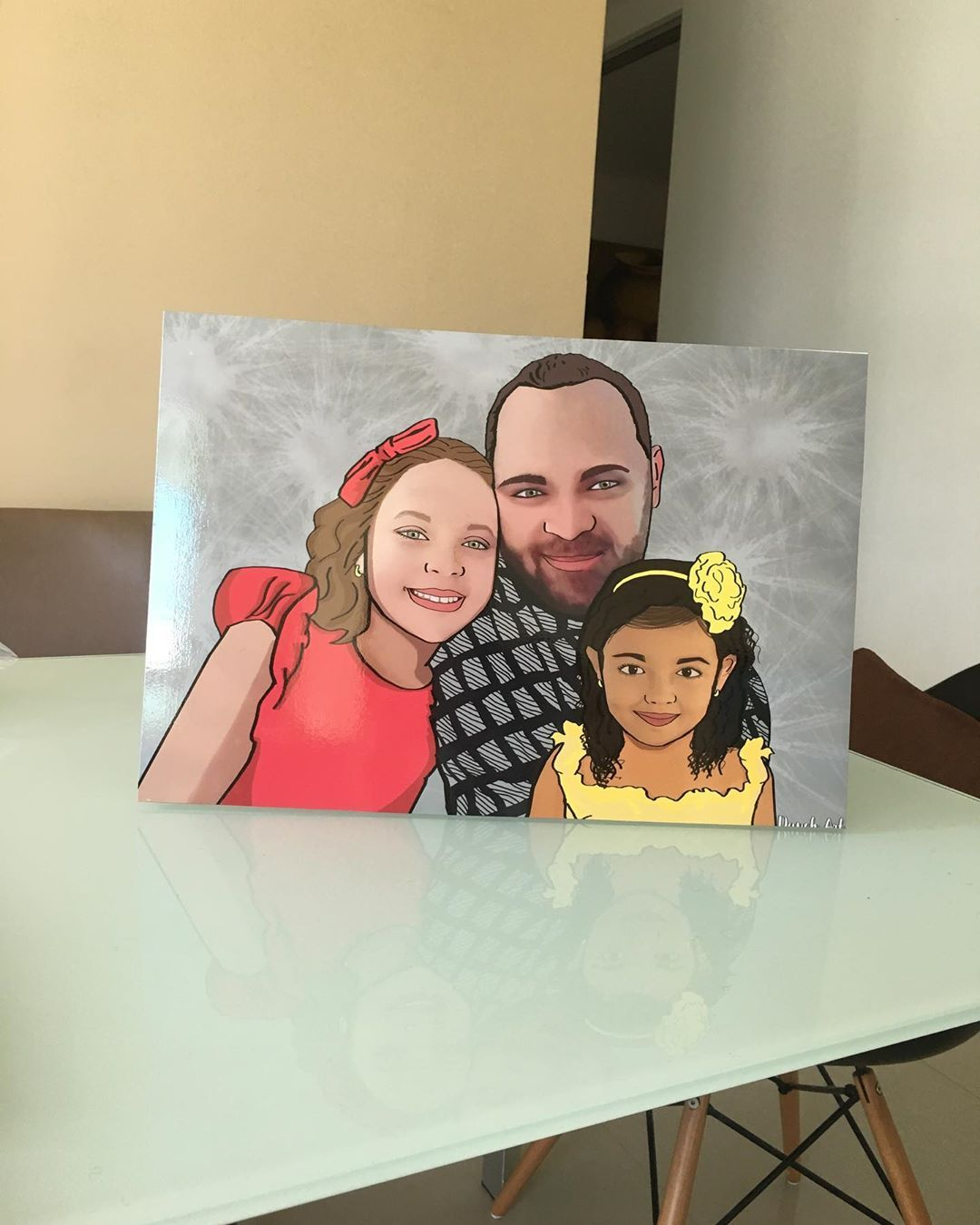 Amor de padre e hijas💕👨👧👧 Retrato tamaño 48x33 . . . . . . . . . . . #art #love #artist #photography #drawing #photooftheday #fashion #beautiful #instagram #cute #artwork #photo #illustrator #picoftheday #illustration #design #sketch #dog #painting #happy #portrait #retrato #arte #pareja #couple #arte #dibujo #colombia #instagram #artist #artsy #arts #artoftheday