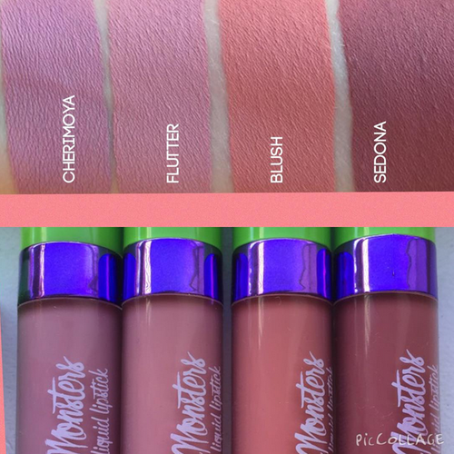 Makeup Monsters Cherimoya / Flutter / Blush / Sedona | PRODUCTS I