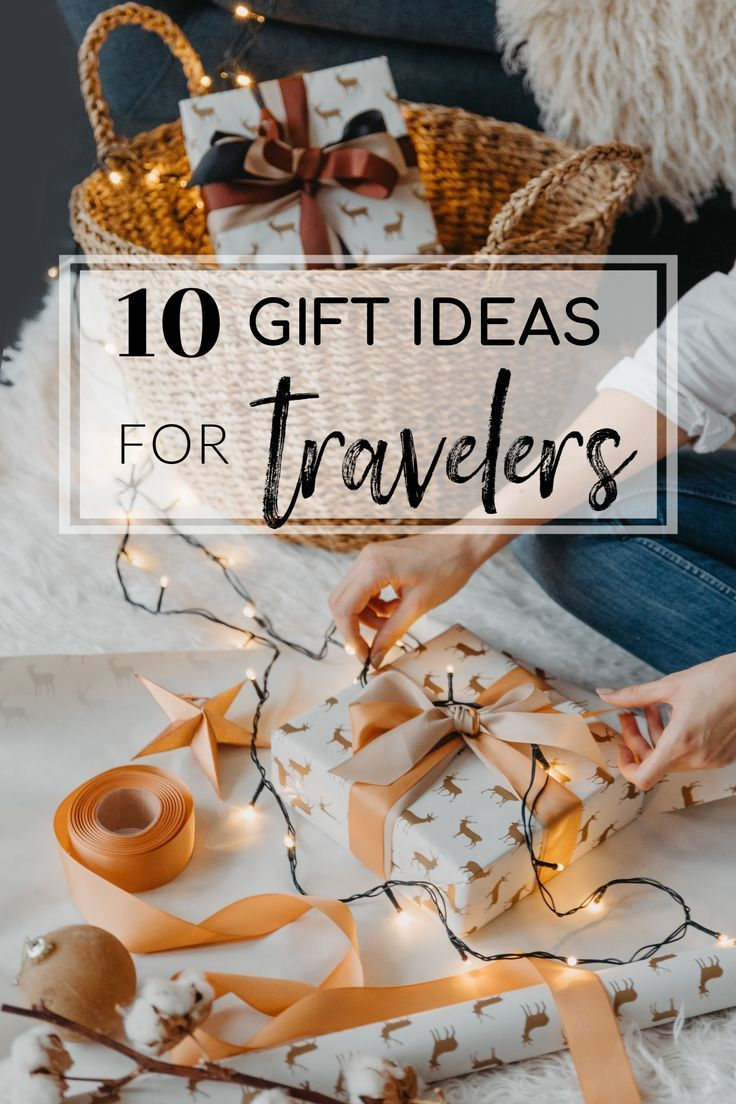 Last-Minute Travel Gift Ideas for Christmas   Travel gifts ...