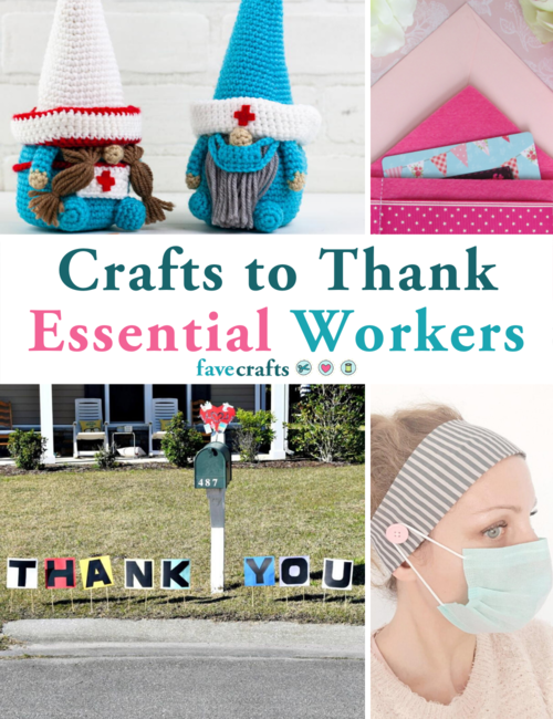 25 Crafts to Thank Essential Workers