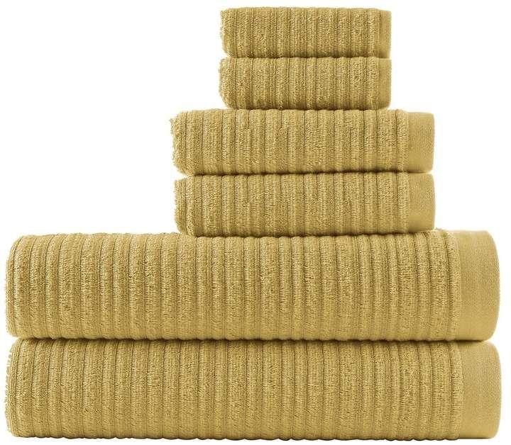 Loft By Loftex Loft By Loftex Cascading Solid 6 Piece Bath Towel