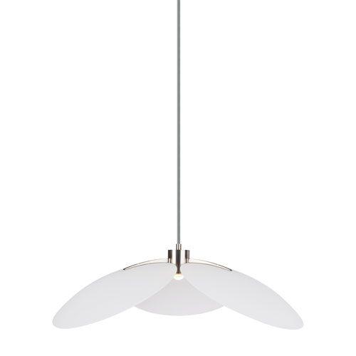 Oma White 28-Inch LED Pendant