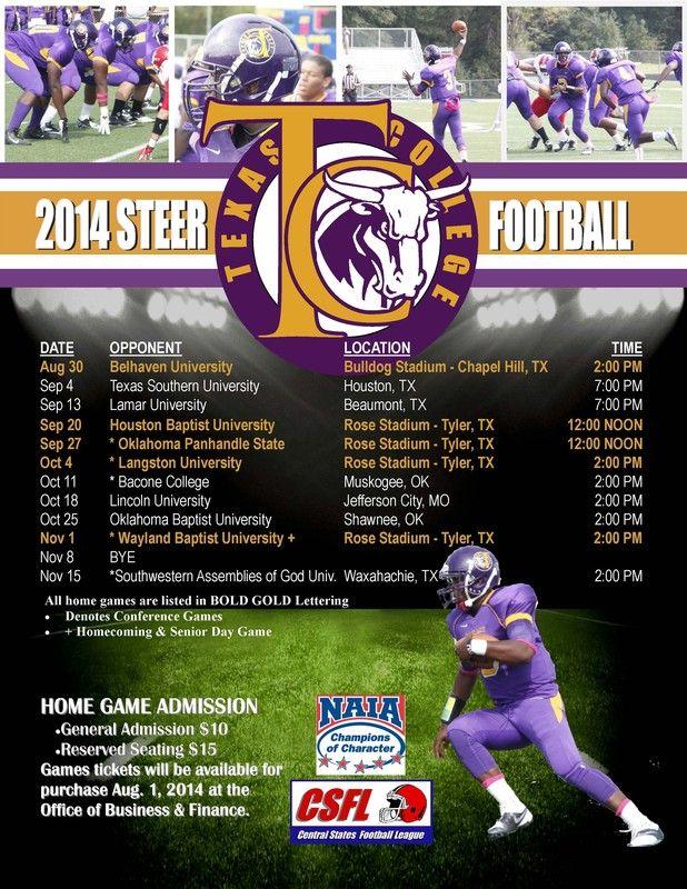 2014-2015 Football Schedule | Lamar university, Football ...