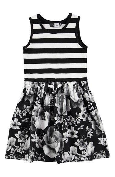 molo 'Colleen' Sleeveless Fit & Flare Dress (Little Girls & Big Girls)