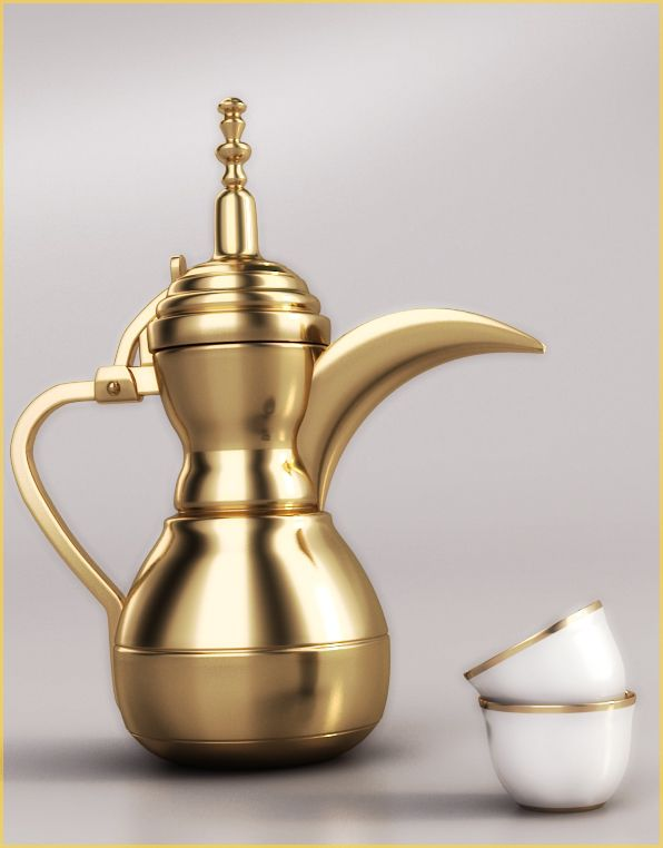 how to cook arabic coffee