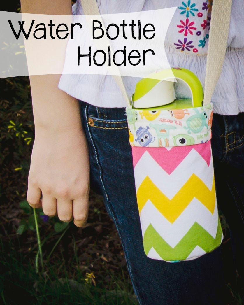 DIY Water Bottle : DIY Fun Water Bottle Holder w/Download ...