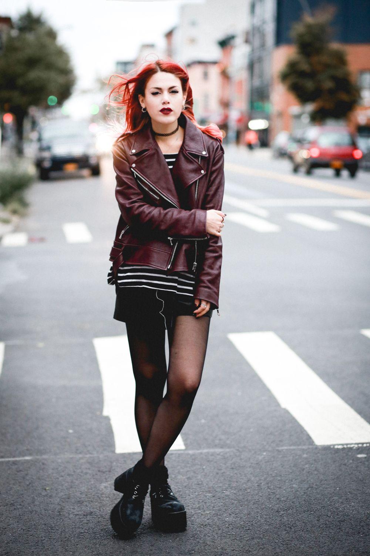 Dark Style / Rocker Style / Luana Perez / Le Happy ...