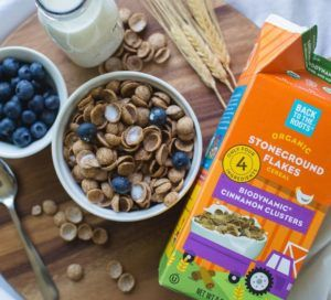 Biodynamic Breakfast Cereals  This Cinnamon Cereal Boasts Various Agriculture Merchandise (hotnewstrend)