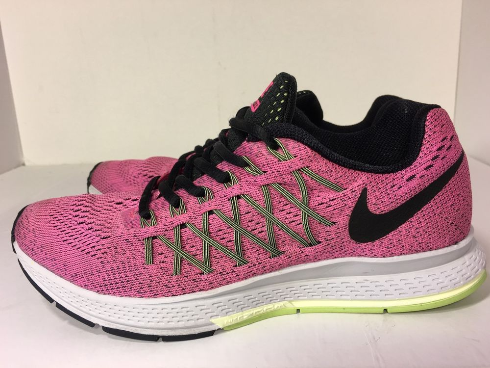 buy popular de8bf db5ab Nike Air Zoom Pegasus 32 Womens Running Shoe Pink Style 749344 600 Size 7   eBay