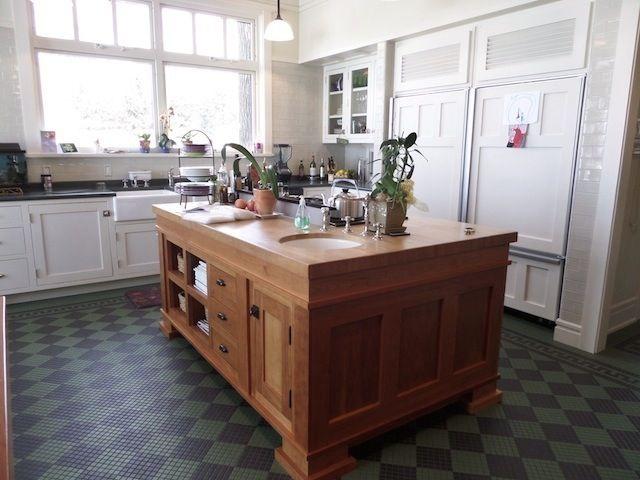 Butcher Block Kitchen Island With Sink : Kitchen Island With Stove #8 - Butcher Block Kitchen Island With Cooktop And Sink kitchen ...