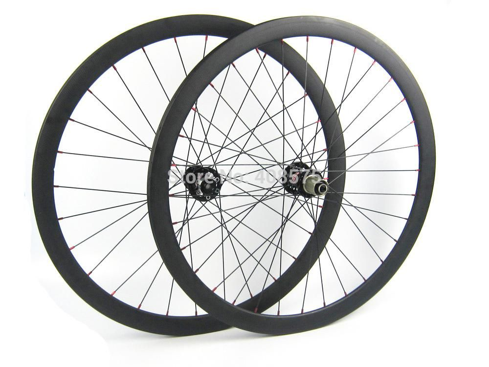 Carbon Fiber Disc Brake Wheel Front Thru Axle 15mm Wheel And Rear Skewers Wheel 38mm Disc Brake Wheel 700c Yesterday S Price Us 435 00 3 Bike Wheel Bicycle Bicycle Parts