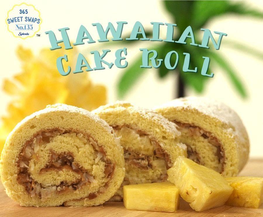 Hawaiian Pineapple Cake Rolls