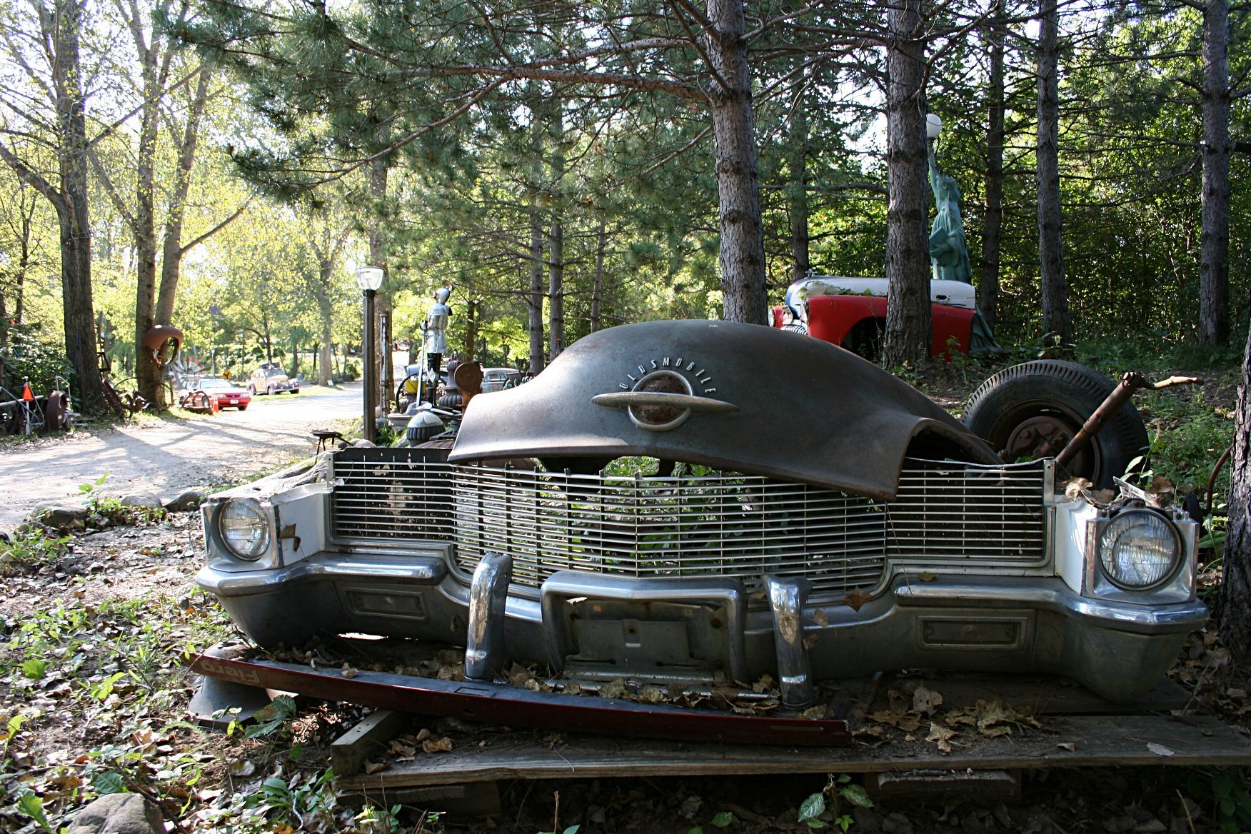 Why have an old unused car sitting around in your garage and ...