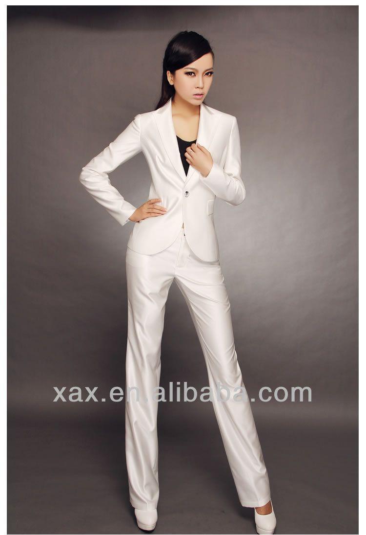 women white suit - Google Search | Woman suit | Pinterest | Woman
