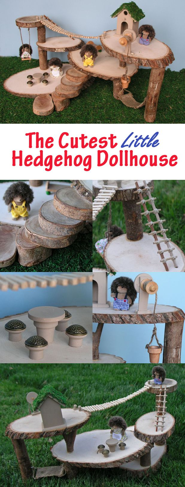 How to make a tree house dollhouse tree houses you ve for How to build a treehouse step by step