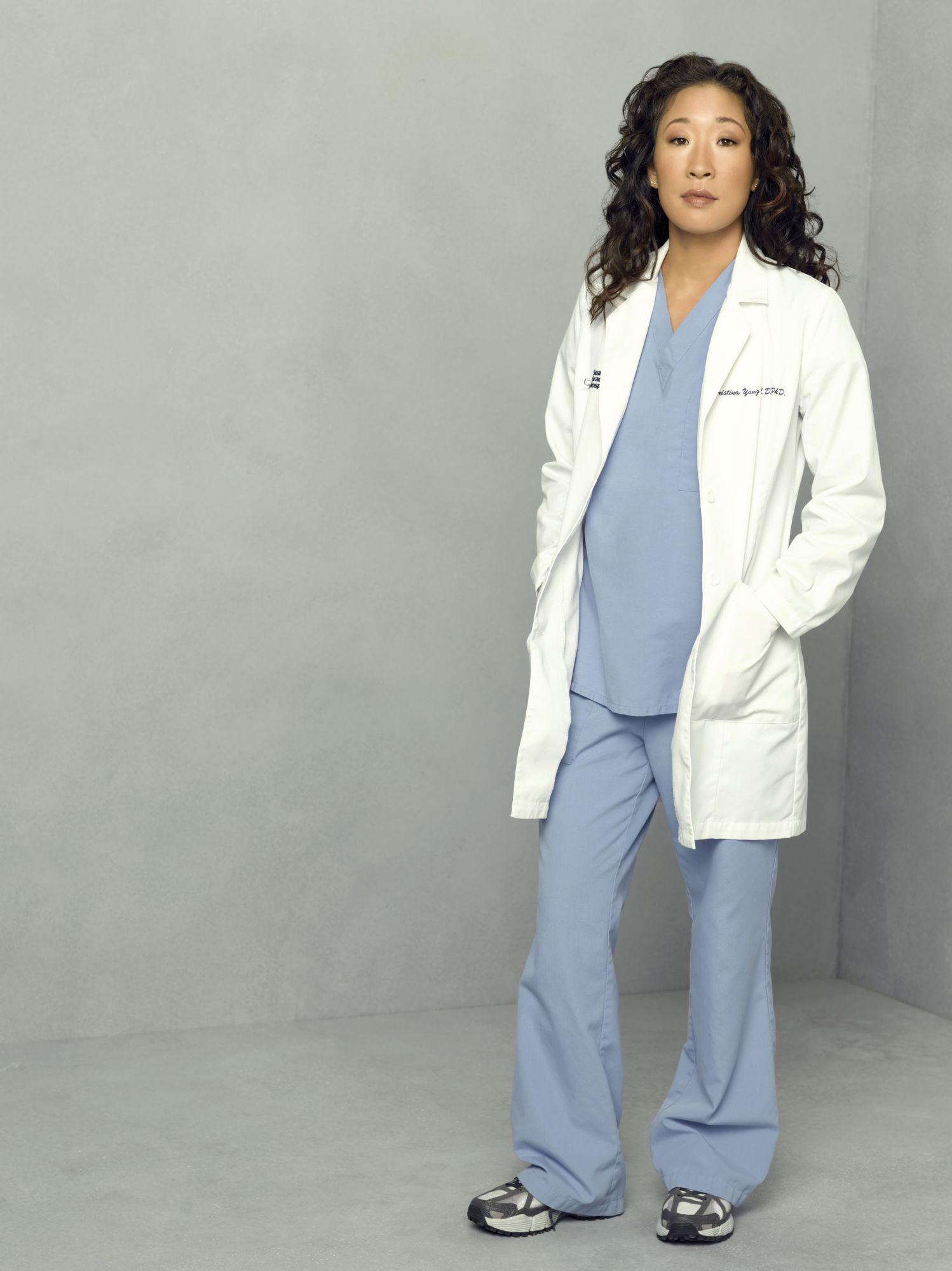 Sandra Cristina Yang - Grey' Anatomy Greys Costumes