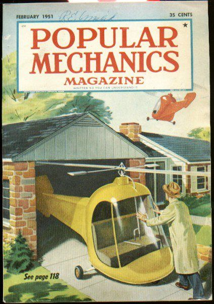 Pictures Of The Future That Never Was Popular Mechanics Magazine Popular Mechanics Retro Futurism