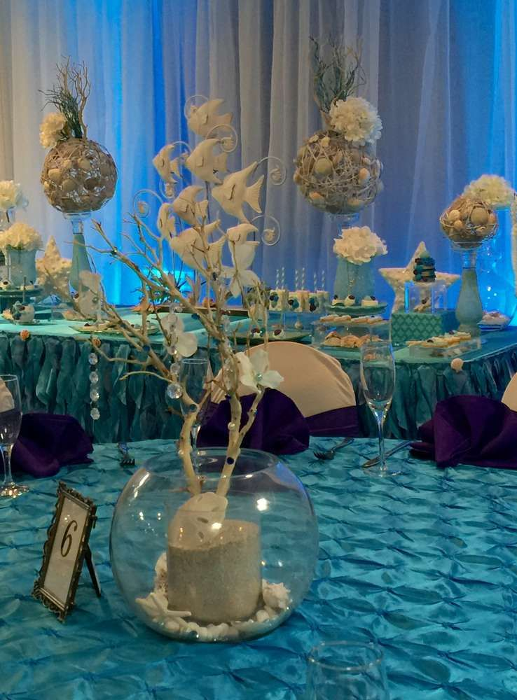 Winter And Under The Sea Quinceanera Party Ideas With Images