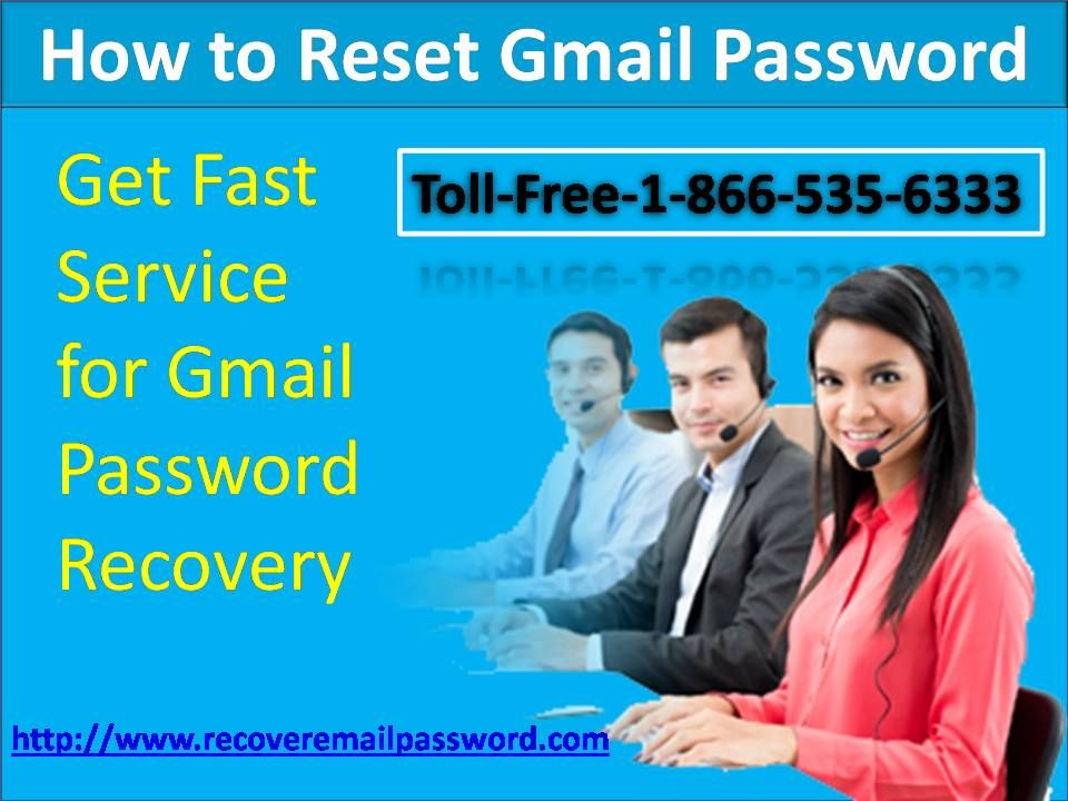 Heres the means by which to reset gmail password without