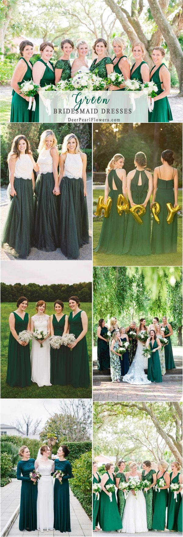 Top bridesmaid dress trends for dress ideas greenery and