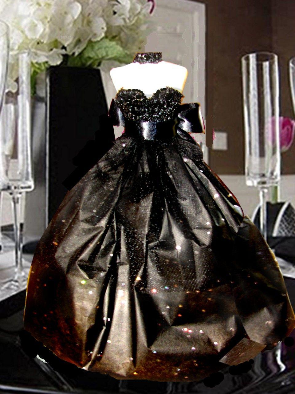 Black dress lolli bridesmaid pop natalie pinterest