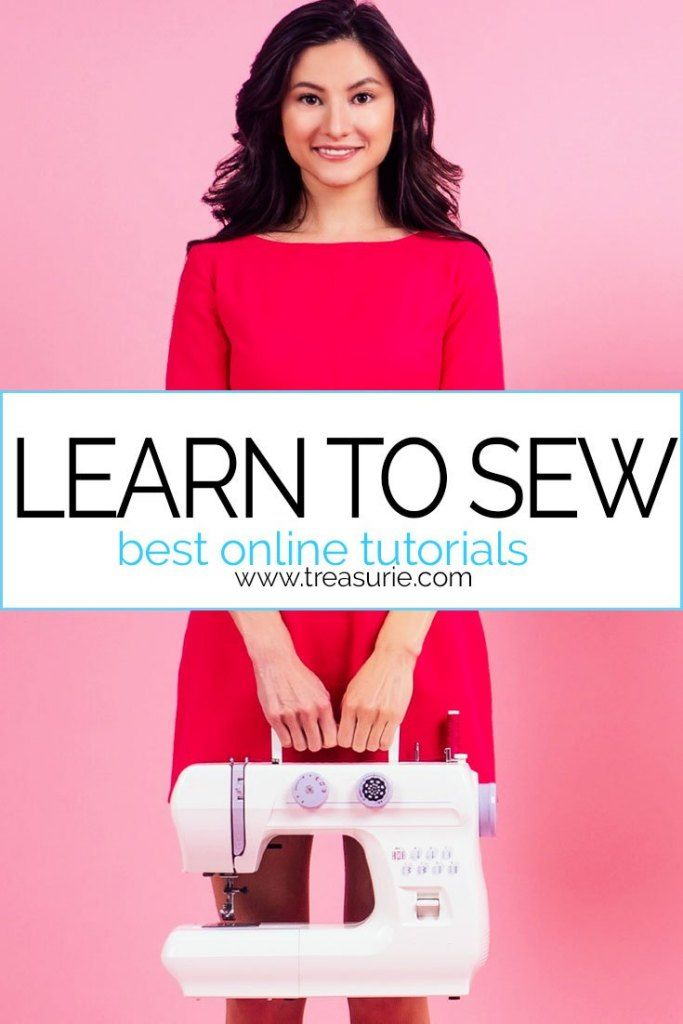 Learn to Sew | Best FREE Online Sewing Tutorials | TREASURIE