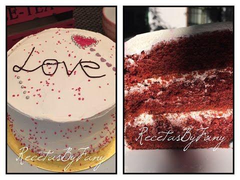 Tarta Red Velvet – Terciopelo rojo – San valentín