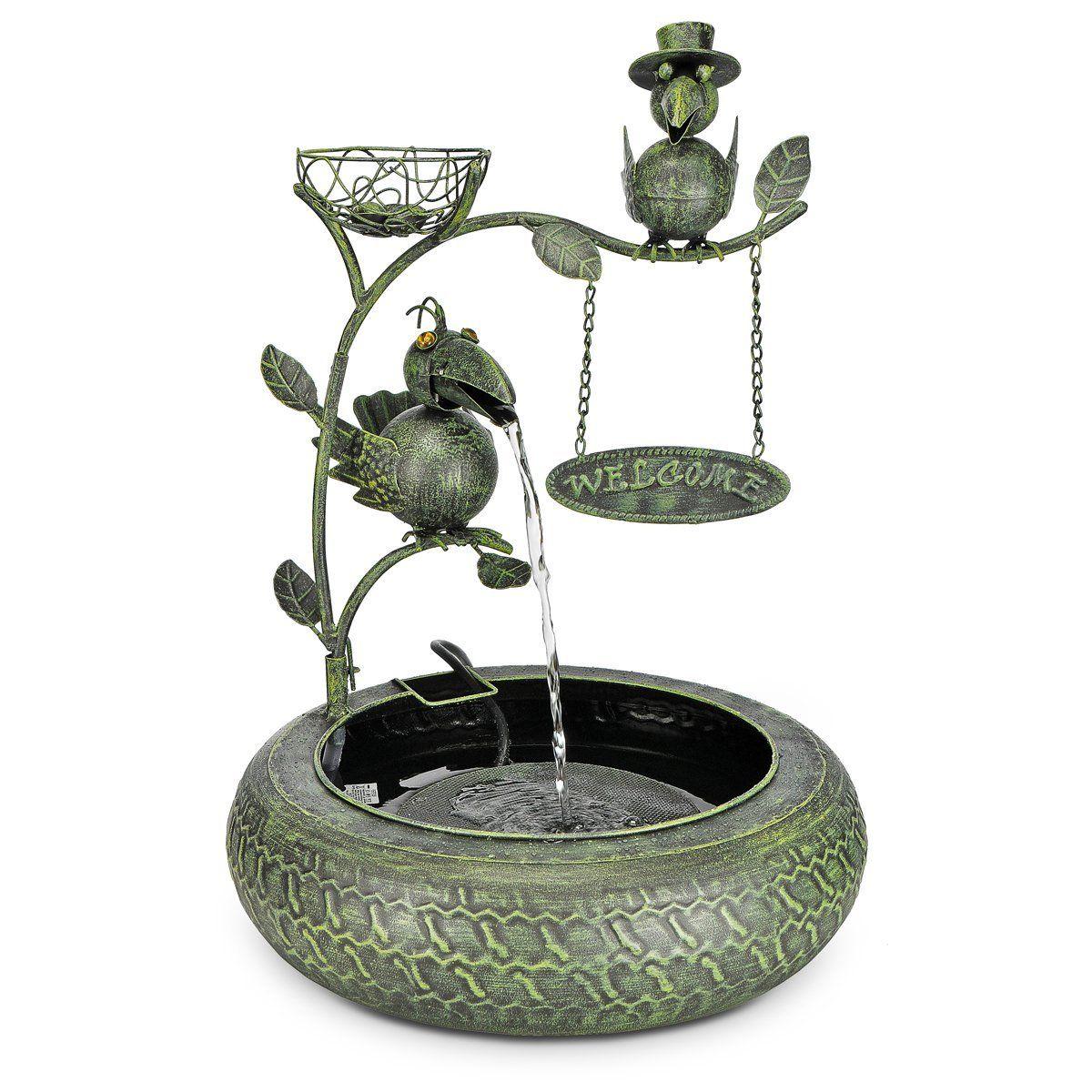 Fontaine d'eau en métal avec Pompe en Design Welcome: Amazon.fr: Cuisine & Maison
