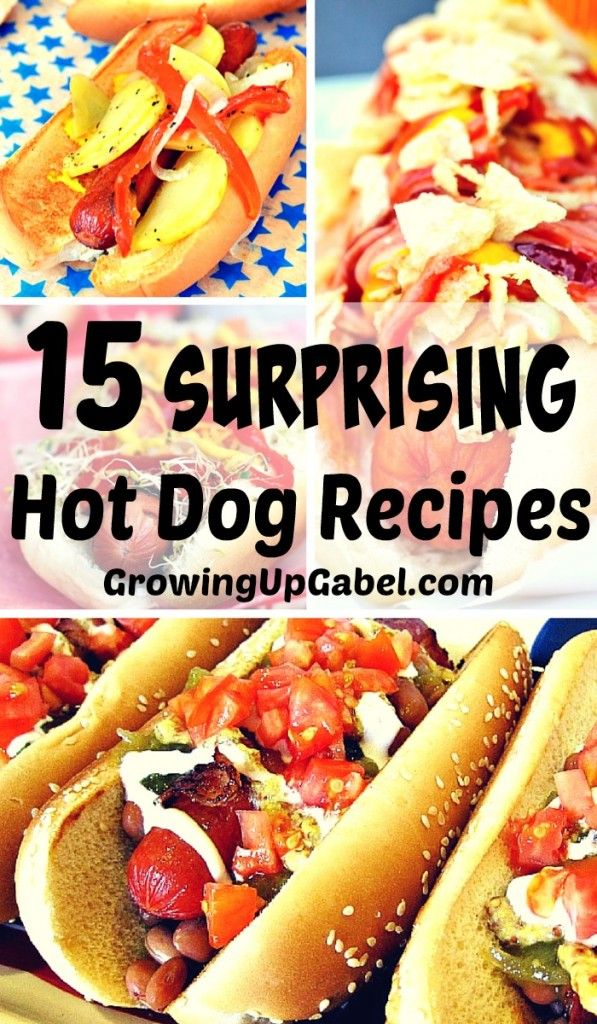 Is your family tired of eating hot dogs? Jazz up one